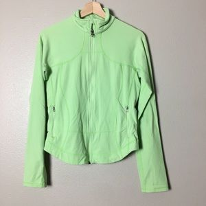 Lululemon Forme Jacket Mint Green